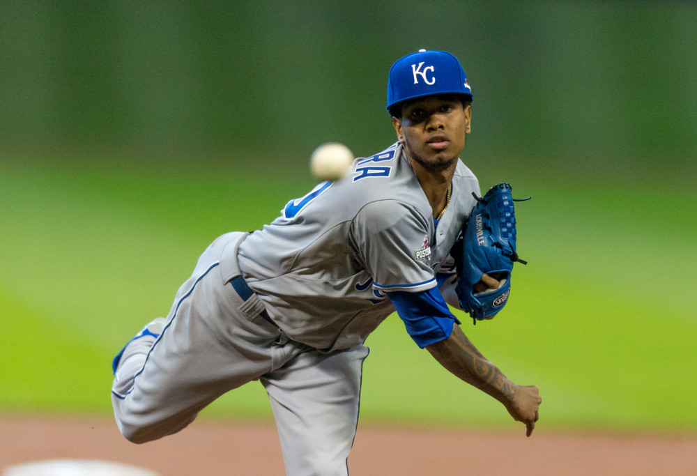 Yordano Ventura pitching mechanics