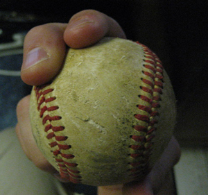 Curveball pitching grips