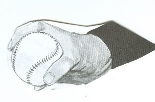 How to throw a forkball - forkball pitching grip