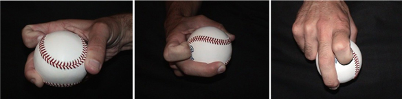 How to grip and throw a knuckle curveball - pitching grips for the knuckle curveball