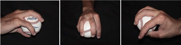 How to grip and throw a palmball - pitching grips for the palmball