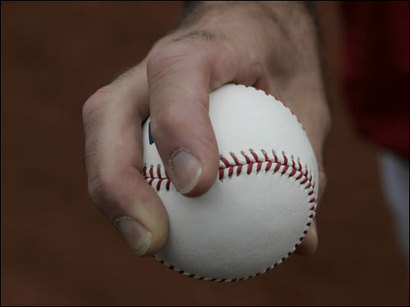 Fastball grip